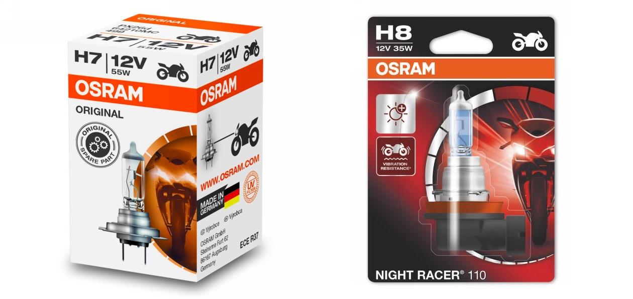 Osram выпустил новые мотоциклетные лампы