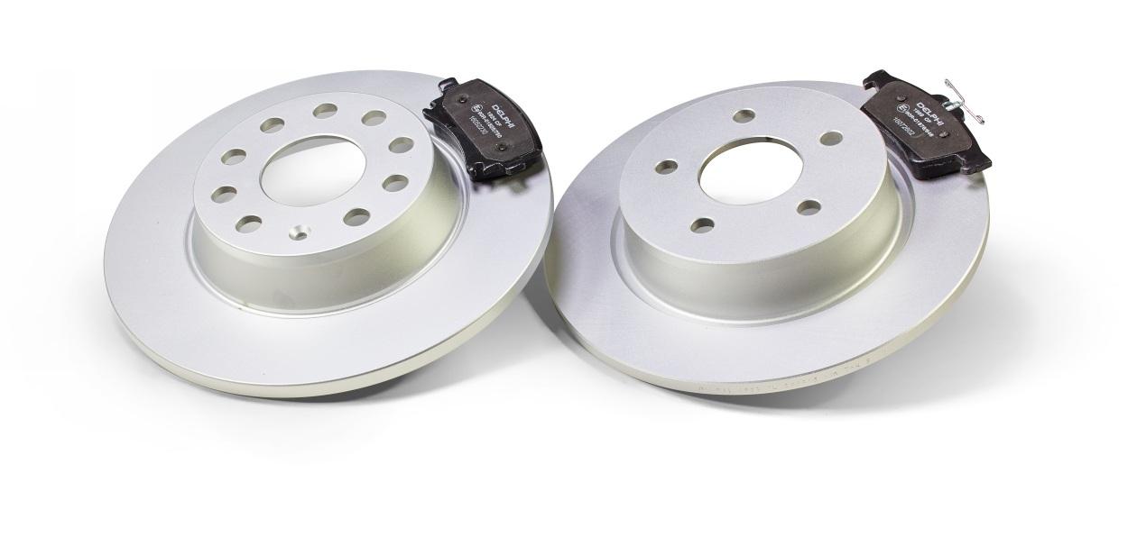 Delphi расширяет ассортимент тормозных дисков