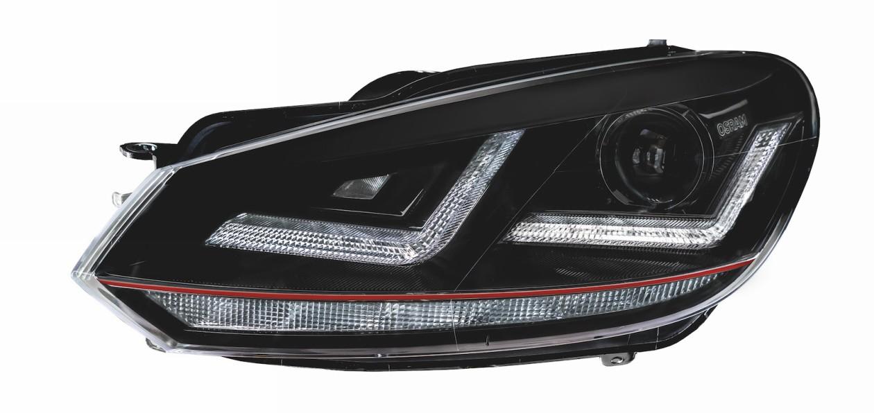 Osram выпустил ксеноновые фары для Volkswagen Golf VI